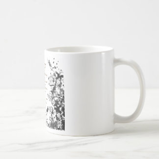 Mother's day wishes black Abusive Coffee Mug