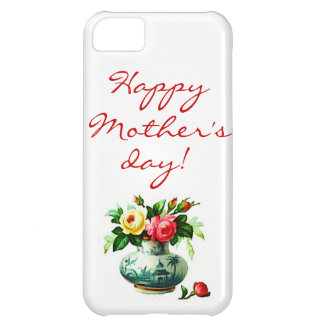 Mother's Day with Flowers iPhone 5C Covers