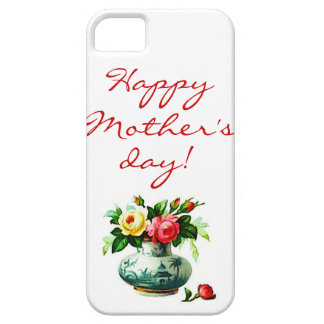 Mother's Day with Flowers Case For The iPhone 5