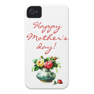 Mother's Day with Flowers Case-Mate iPhone 4 Cases