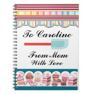 Mother's Favorite Recipes - SRF Spiral Notebook