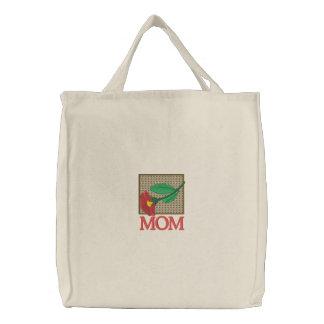 Mothers Floral Embroidered Bag