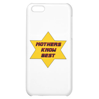 Mothers Know Best Gold The MUSEUM Zazzle Gifts iPhone 5C Cases