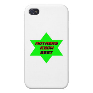 Mothers Know Best Green The MUSEUM Zazzle Gifts iPhone 4/4S Cases