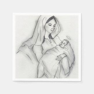 Mothers Love Disposable Serviette