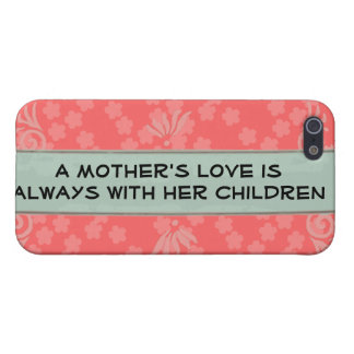 Mother's love iPhone case Cover For iPhone 5