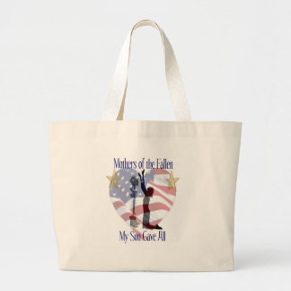 Mothers of the Fallen Large Tote Bag