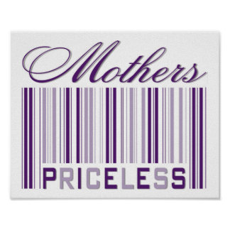 Mothers Priceless Poster