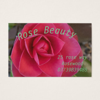 Mothers Rose Business Card