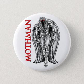 Mothman 6 Cm Round Badge