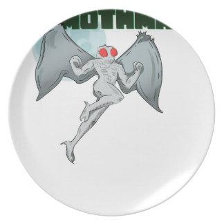 Mothman Believes in Me! | Point Pleasant, WV Plate
