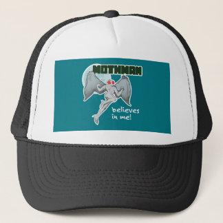 Mothman Believes in Me!   Point Pleasant, WV Trucker Hat