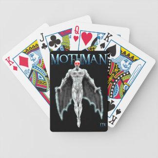 Mothman Bicycle Playing Cards