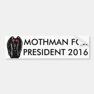 Mothman For President 2016 Sticker