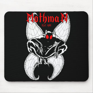 Mothman Mouse Pad