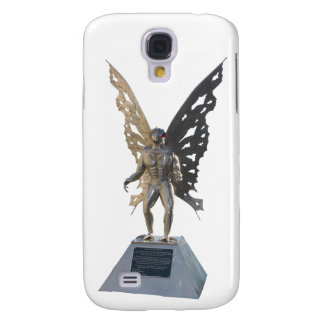 Mothman Statue from Point Pleasant West Virginia Samsung Galaxy S4 Case