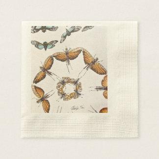 Moths a sign of summer disposable serviette