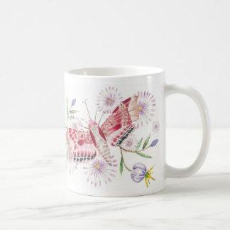 Moths and flowers Mug