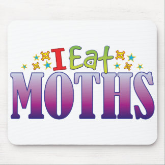 Moths I Eat Mouse Pad