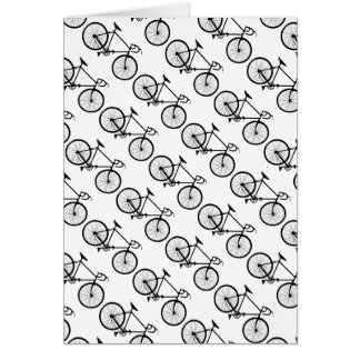 motif, patterns vélo cycle card