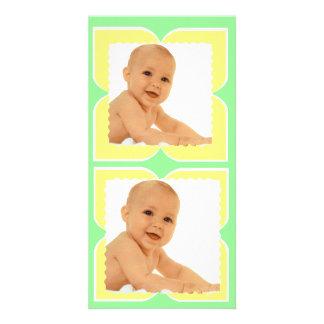 motifs formes géométriques patterns photo card template