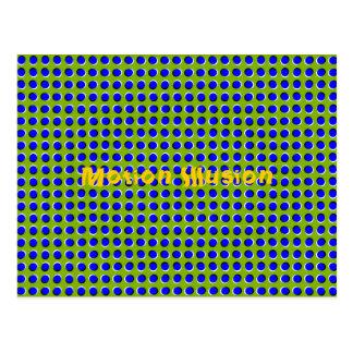 Motion Illusion Optical Postcard