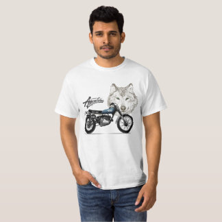 Motion in the Vein - Legendary enduro wolf T-Shirt