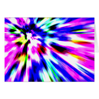 Motion of Color Greeting Card