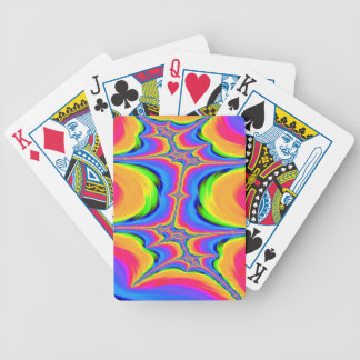 Motions of Existence Fractal Bicycle Playing Cards