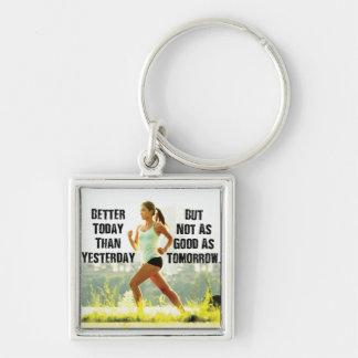 Motivaitonal Fitness Gym Keychain