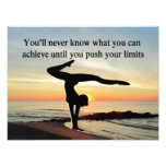 MOTIVATING GYMNAST PHOTO ART