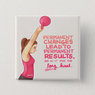 Motivation 15 Cm Square Badge