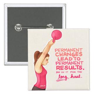 Motivation 15 Cm Square Badge