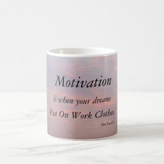 MOTIVATION-BEN FRANKLIN MUG