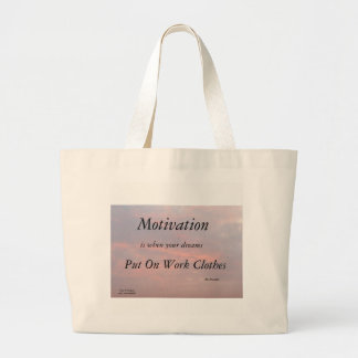 MOTIVATION-BEN FRANKLIN TOTE