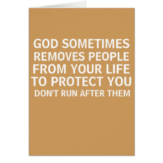 MOTIVATION GOD SOMETIMES REMOVES PEOPLE CARD