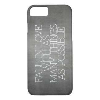 Motivation, inspiration, words of wisdom. quotes iPhone 7 case
