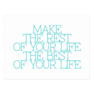 Motivation, inspiration, words of wisdom. quotes postcard