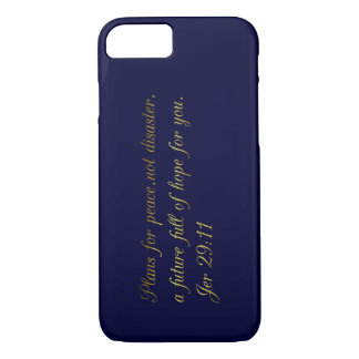 Motivational and inspirational biblical quotes iPhone 7 case