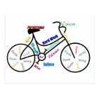 Motivational Bike, Bicycle, Cycling, Sport, Hobby Postcard
