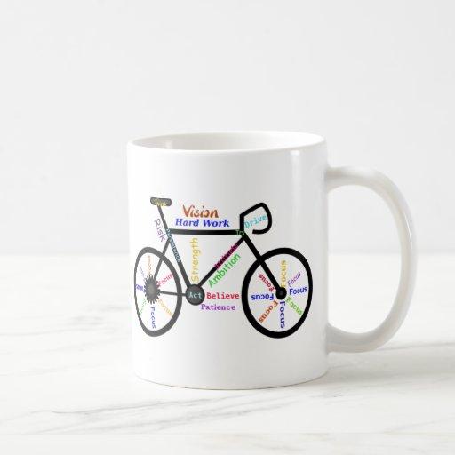 Motivational Bike, Cycle, Biking, Sport Words Mug