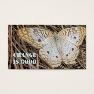Motivational Butterfly Business Card