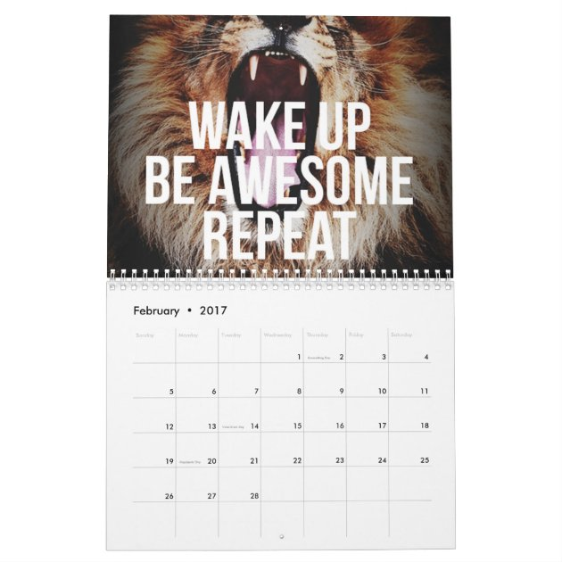 Motivational Calendar | Zazzle