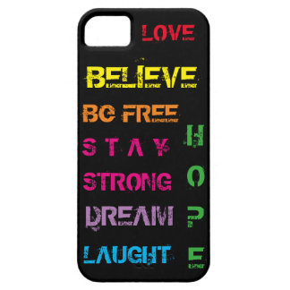 Motivational cellphone case