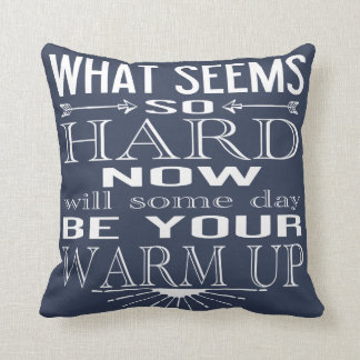Motivational Dance Fitness Quote CHOOSE YOUR COLOR Cushion