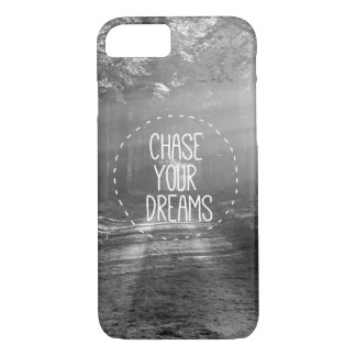Motivational Dreams Quote iPhone 7 Case