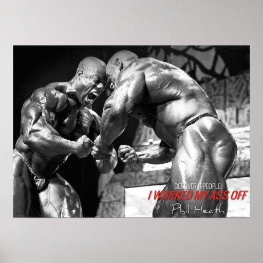 Motivational Gym Poster - Bodybuilding, Lifting