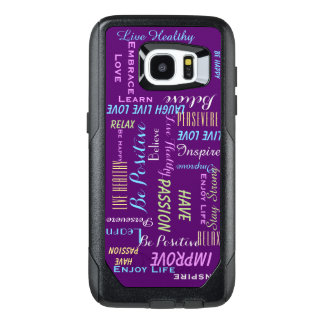 Motivational Inspirational CHOOSE YOUR COLOR OtterBox Samsung Galaxy S7 Edge Case