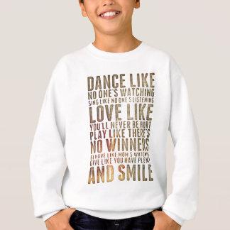 motivational inspirational sweatshirt
