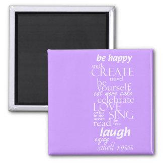 motivational inspirational words fridge magnet